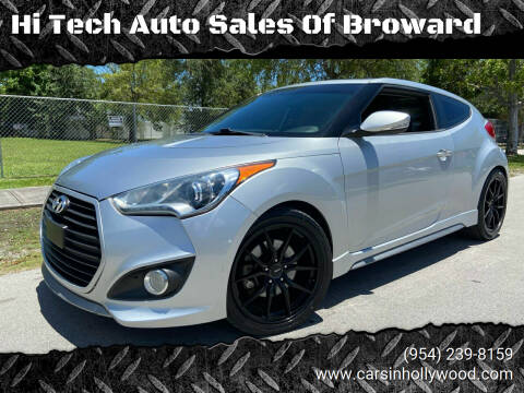 2013 Hyundai Veloster for sale at Hi Tech Auto Sales Of Broward in Hollywood FL
