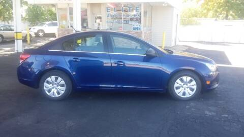 2012 Chevrolet Cruze for sale at Elite Auto Sales in Willowick OH