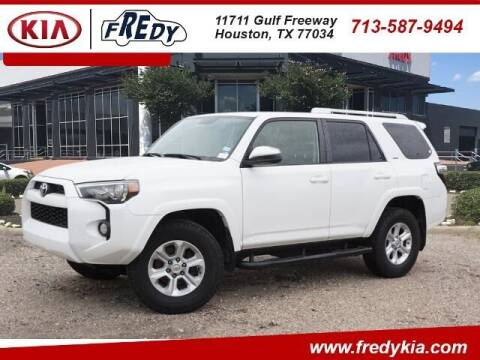2017 Toyota 4Runner for sale at FREDY USED CAR SALES in Houston TX