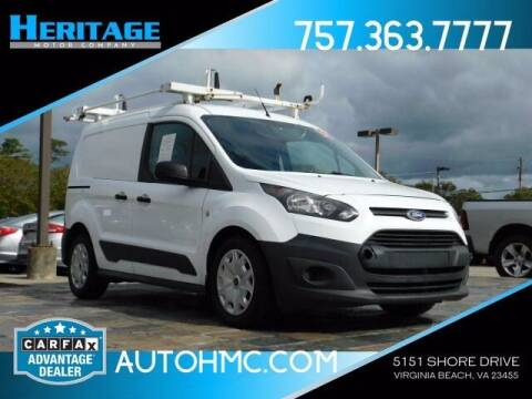 2015 Ford Transit Connect Cargo for sale at Heritage Motor Company in Virginia Beach VA