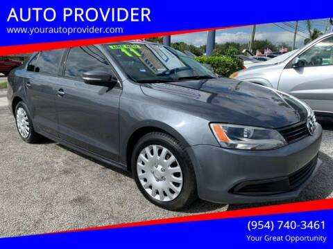 2011 Volkswagen Jetta for sale at AUTO PROVIDER in Fort Lauderdale FL