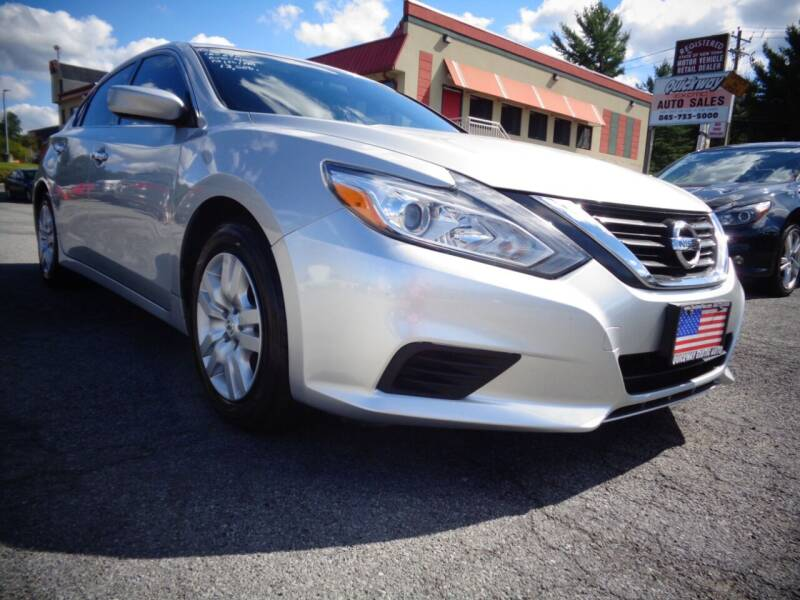 2016 Nissan Altima for sale at Quickway Exotic Auto in Bloomingburg NY