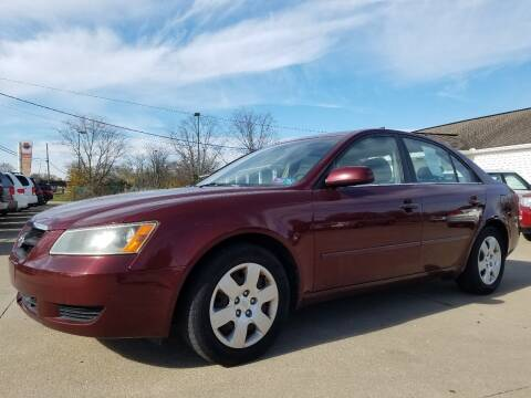 2007 Hyundai Sonata for sale at CarNation Auto Group in Alliance OH