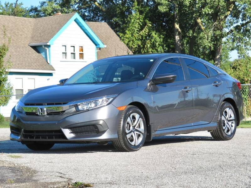 2017 Honda Civic for sale at Tonys Pre Owned Auto Sales in Kokomo IN