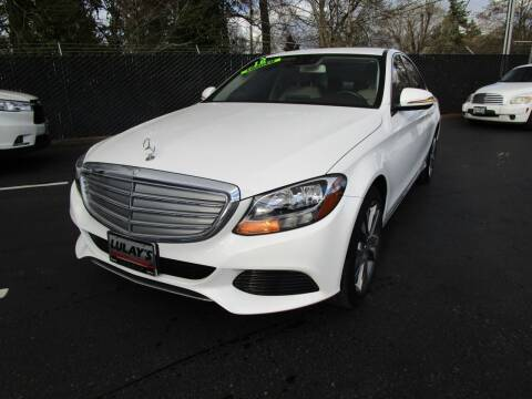 2016 Mercedes-Benz C-Class for sale at LULAY'S CAR CONNECTION in Salem OR