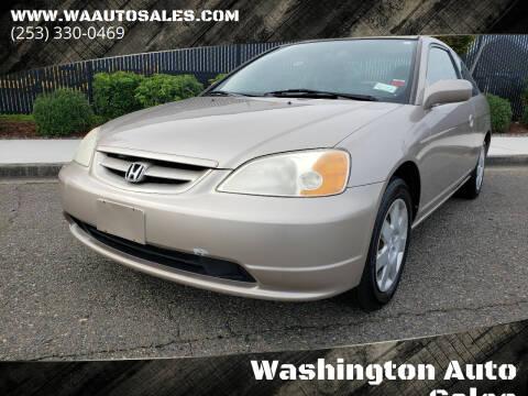 2002 Honda Civic for sale at Washington Auto Sales in Tacoma WA