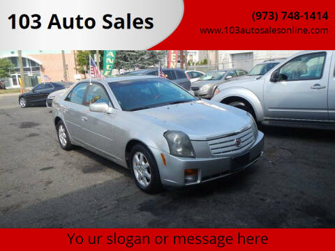 2007 Cadillac CTS for sale at 103 Auto Sales in Bloomfield NJ