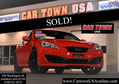 2011 Hyundai Genesis Coupe for sale at Car Town USA in Attleboro MA