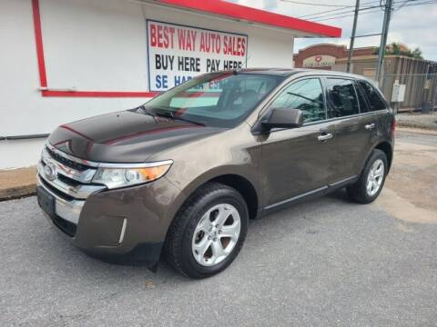 2011 Ford Edge for sale at Best Way Auto Sales II in Houston TX