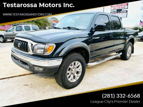2004 Toyota Tacoma for sale at Testarossa Motors Inc. in League City TX