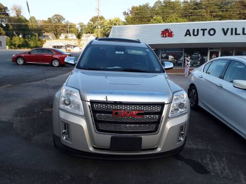 2012 GMC Terrain for sale at Auto Villa in Danville VA