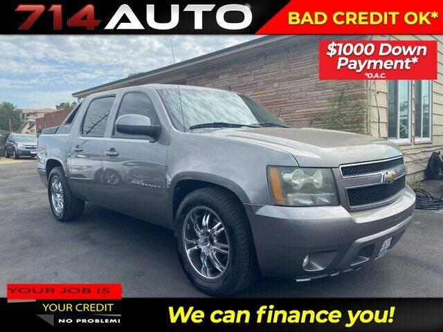 2009 Chevrolet Avalanche for sale at 714 Auto in Orange CA