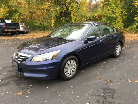 2012 Honda Accord for sale at Delafield Motors in Glenville NY