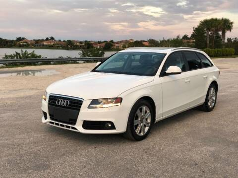 2009 Audi A4 for sale at EUROPEAN AUTO ALLIANCE LLC in Coral Springs FL