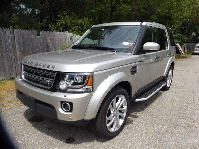 2016 Land Rover LR4 for sale at Wayland Automotive in Wayland MA