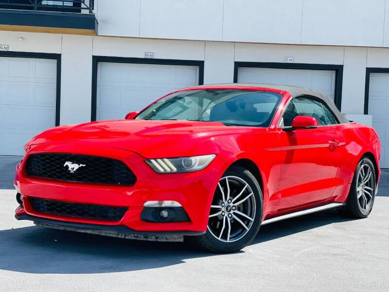 2017 Ford Mustang for sale at Avanesyan Motors in Orem UT