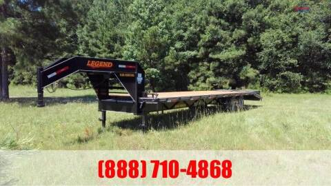 2021 LEGEND 30' Gooseneck Flatbed 16K for sale at Montgomery Trailer Sales - LEGEND in Conroe TX
