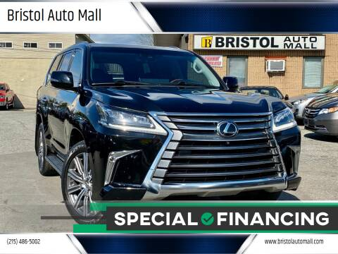 2017 Lexus LX 570 for sale at Bristol Auto Mall in Levittown PA
