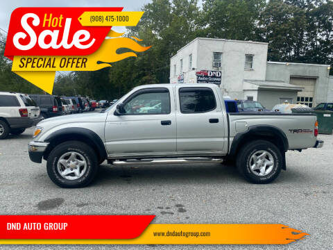 2004 Toyota Tacoma for sale at DND AUTO GROUP in Belvidere NJ