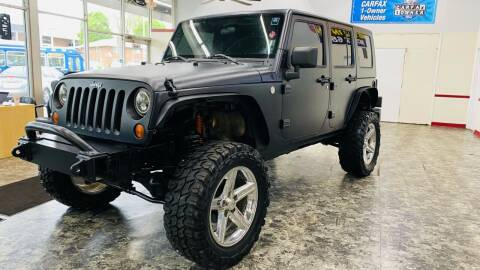 2010 Jeep Wrangler Unlimited for sale at TOP YIN MOTORS in Mount Prospect IL