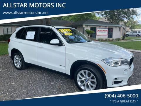 2016 BMW X5 for sale at ALLSTAR MOTORS INC in Middleburg FL