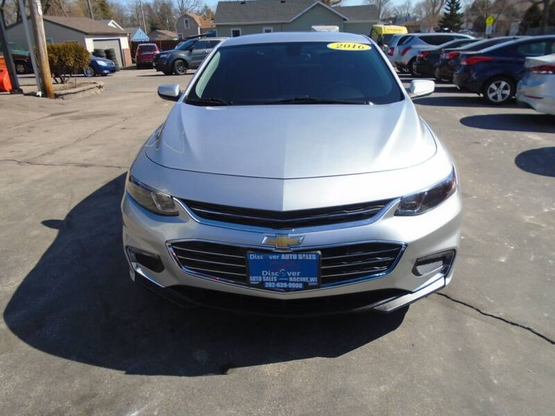 2016 Chevrolet Malibu for sale at DISCOVER AUTO SALES in Racine WI