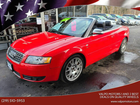 2006 Audi S4 for sale at Valpo Motors 1 and 2  Best Deals On Quality Wheels in Valparaiso IN