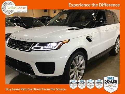 2020 Land Rover Range Rover Sport for sale at Dallas Auto Finance in Dallas TX
