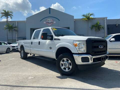 2014 Ford F-250 Super Duty for sale at Ven-Usa Autosales Inc in Miami FL