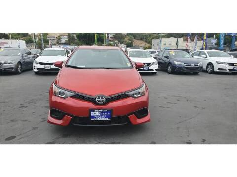 2016 Scion iM for sale at AutoDeals in Hayward CA