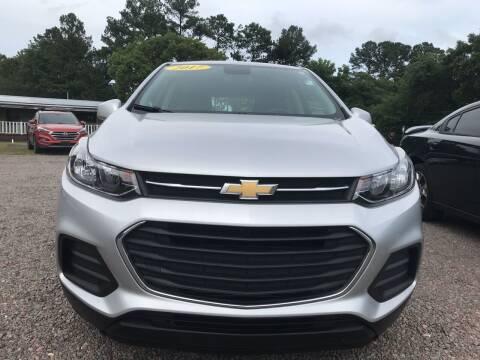 2017 Chevrolet Trax for sale at #1 Auto Liquidators in Yulee FL