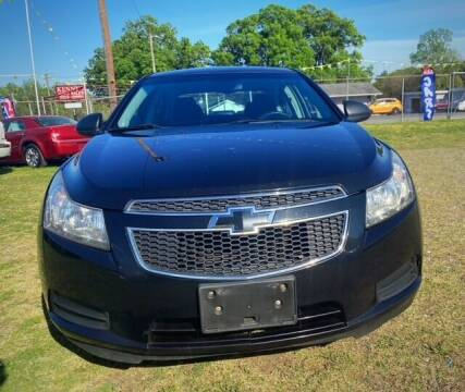 2013 Chevrolet Cruze for sale at Cutiva Cars in Gastonia NC