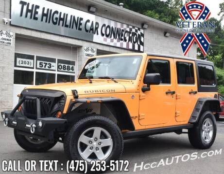 2012 Jeep Wrangler Unlimited for sale at The Highline Car Connection in Waterbury CT