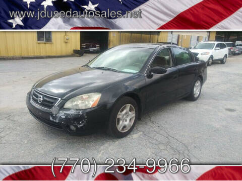 2003 Nissan Altima for sale at J D USED AUTO SALES INC in Doraville GA
