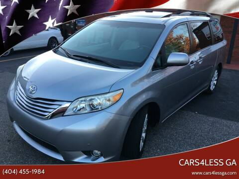 2011 Toyota Sienna for sale at Cars4Less GA in Alpharetta GA