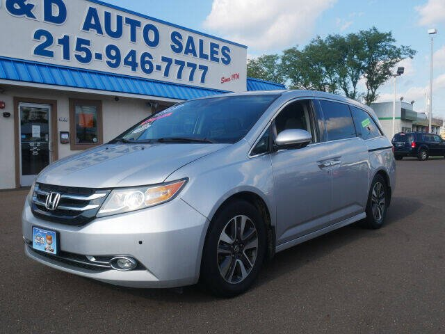 2014 Honda Odyssey for sale at B & D Auto Sales Inc. in Fairless Hills PA