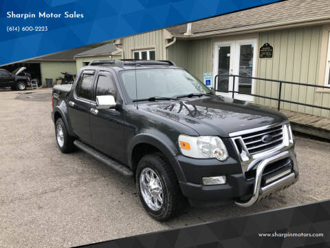 2010 Ford Explorer Sport Trac for sale at Sharpin Motor Sales in Columbus OH