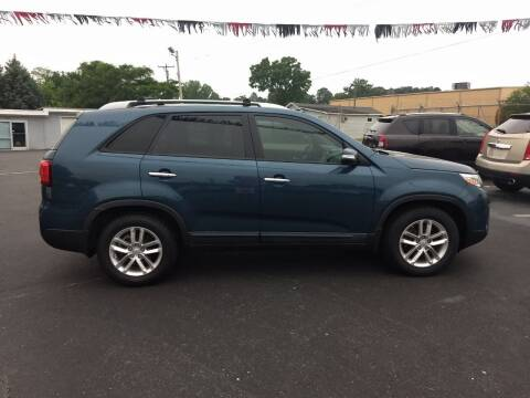 2014 Kia Sorento for sale at Kenny's Auto Sales Inc. in Lowell NC