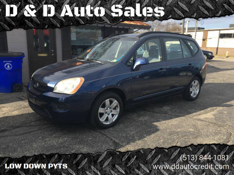 2008 Kia Rondo for sale at D & D Auto Sales in Hamilton OH