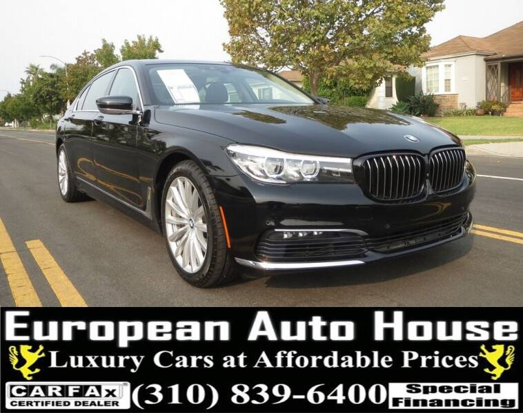 2017 BMW 7 Series for sale at European Auto House in Los Angeles CA