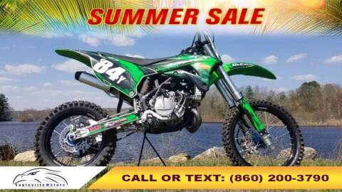 2019 Kawasaki KX85 for sale at EAGLEVILLE MOTORS LLC in Storrs Mansfield CT