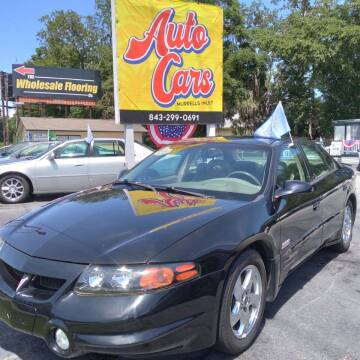2002 Pontiac Bonneville for sale at Auto Cars in Murrells Inlet SC