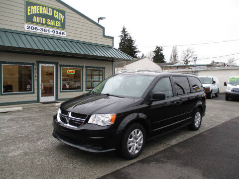 2015 Dodge Grand Caravan for sale at Emerald City Auto Inc in Seattle WA