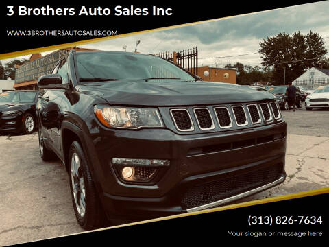 2020 Jeep Compass for sale at 3 Brothers Auto Sales Inc in Detroit MI