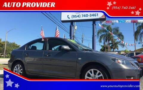 2007 Mazda MAZDA3 for sale at AUTO PROVIDER in Fort Lauderdale FL