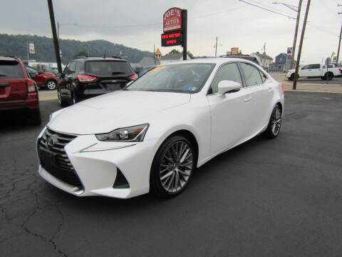 2018 Lexus IS 300 for sale at Joe's Preowned Autos 2 in Wellsburg WV