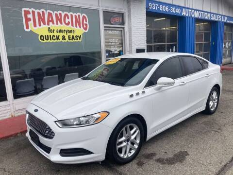 2015 Ford Fusion for sale at AutoMotion Sales in Franklin OH