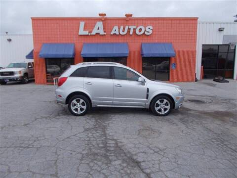 2014 Chevrolet Captiva Sport for sale at L A AUTOS in Omaha NE