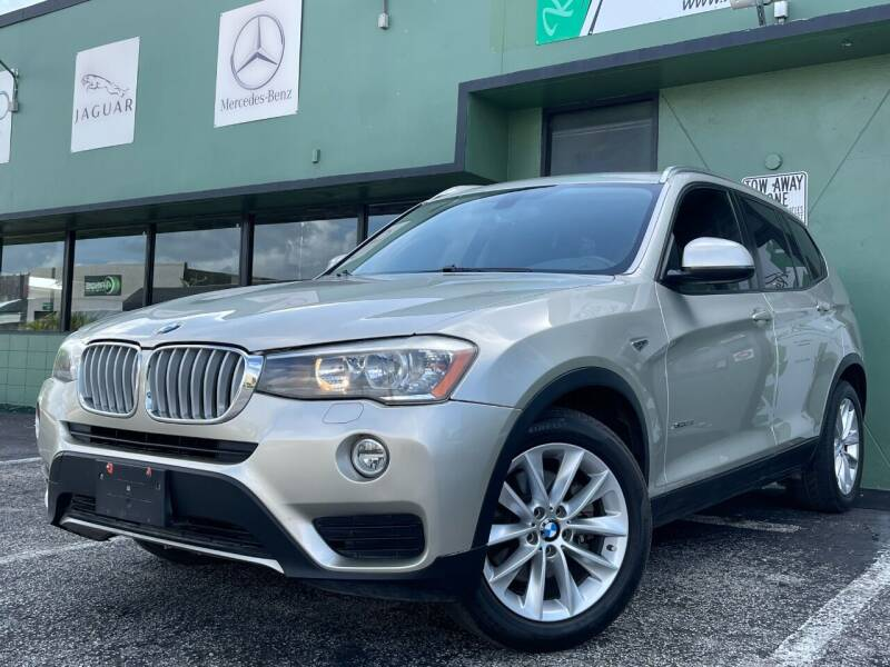 2015 BMW X3 for sale at KARZILLA MOTORS in Oakland Park FL