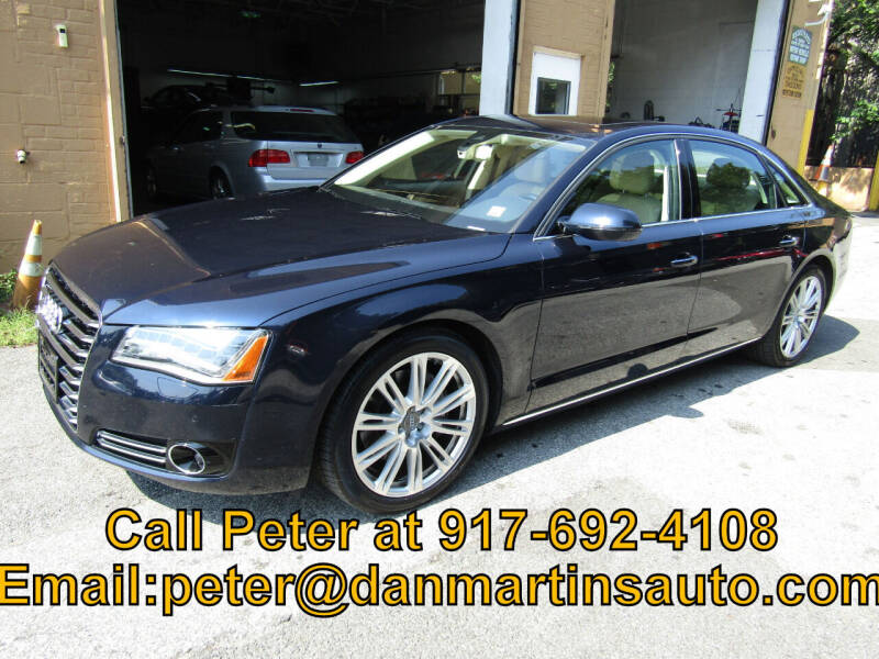 2014 Audi A8 L for sale at Dan Martin's Auto Depot LTD in Yonkers NY